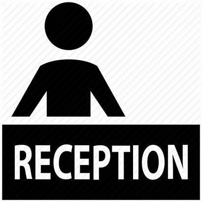 Reception Desk Icon Hotel Icons Manager Receptionist