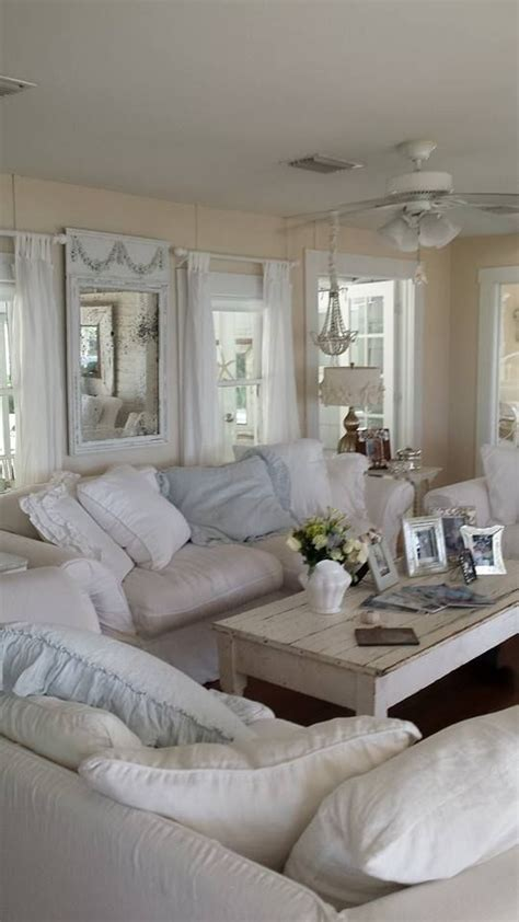 blue shabby chic bedroom 26 charming shabby chic living room d 233 cor ideas shelterness