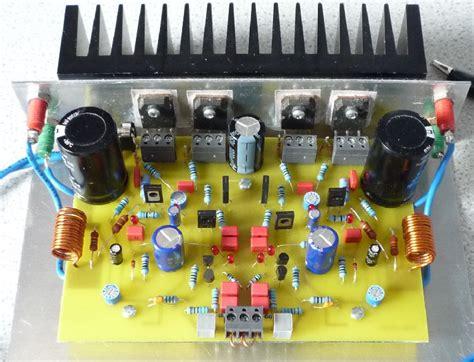mjr mk mosfet power amplifier
