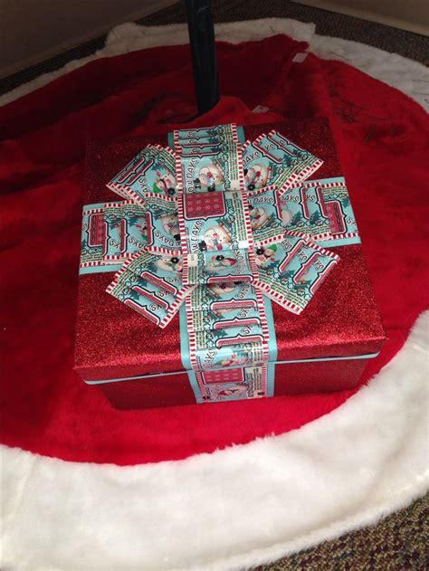 lottery ticket present christmaswinter crafts