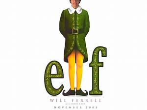 Elf Movie Poster Wallpaper - Comedy Movies Wallpaper