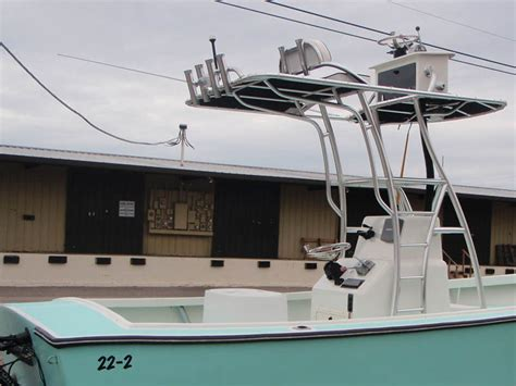 Boat Tower Fabrication by Sarasota Boat Renovations With Custom Boat Towers And T