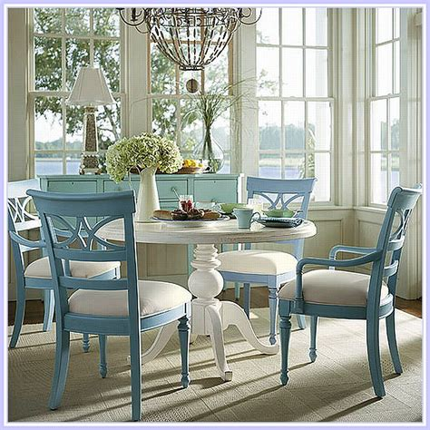 beach kitchen table and chairs dining room this dining set 405 assateague house in cream