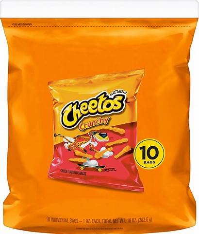 Cheetos Crunchy Cheese Flavored Snacks Multi Pack