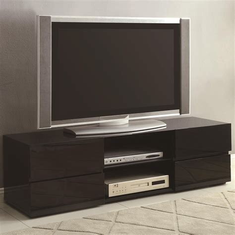 kitchen islands carts coaster 700841 black wood tv stand a sofa