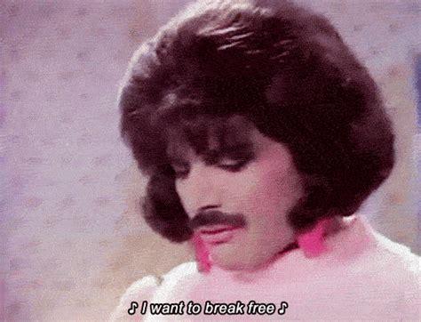 I Want To Break Free Gifs