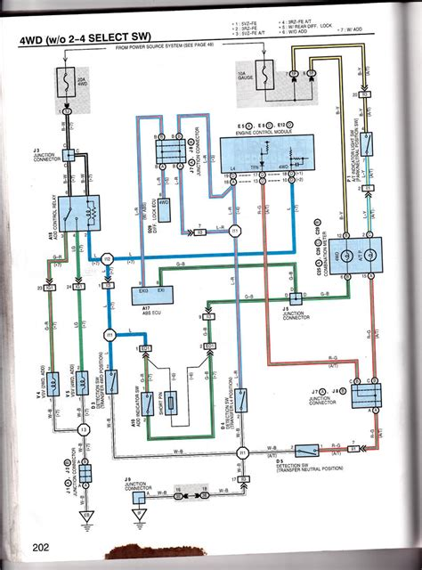 Toyotum 4runner Wiring Schematic by 4wd Light Doesn T Turn On 4h Toyota 4runner Forum