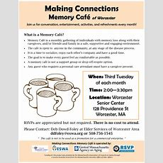 Making Connections Memory Café Eswaeswa