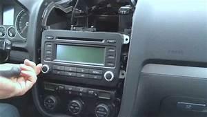 Golf 5 Radio : golf 5 radio und navi ausbauen golf mk 5 rabbit youtube ~ Kayakingforconservation.com Haus und Dekorationen