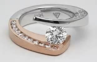 unique engagement rings  modern feels  designs