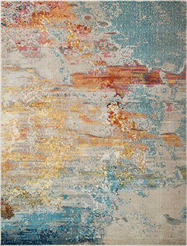 nourison celestial modern abstract area rug