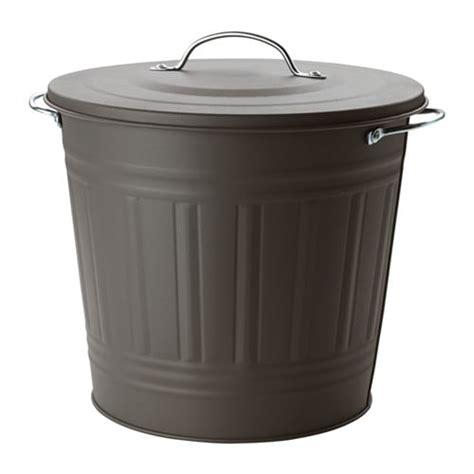 poubelle bureau ikea knodd poubelle avec couvercle ikea