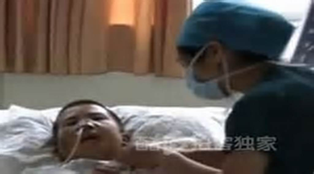 #Chinese #Teen #Almost #Dies #From #Compressed
