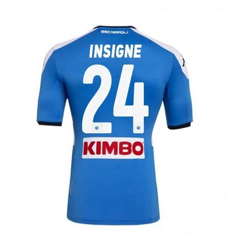 Welcome to the home of insigne europe. Napoli Home INSIGNE Soccer Shirts 2019-20