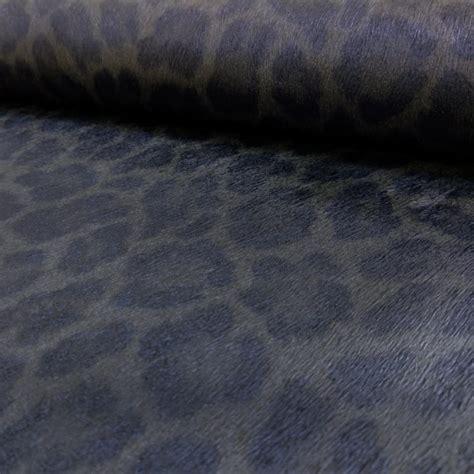 Animal Print Textured Wallpaper - rasch leopard print pattern faux effect fur metallic