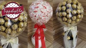 Süßigkeiten Baum Selber Machen : raffaello baum anleitung in einen topf gips gie en hozstab best of basteln ~ Orissabook.com Haus und Dekorationen