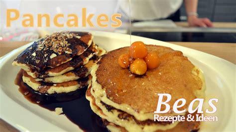 pancakes rezept amerikanische pfannkuchen