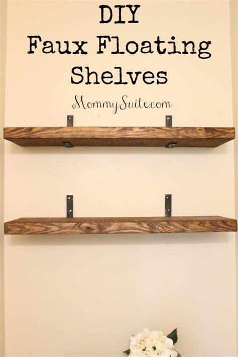 diy bathroom shelving ideas best 20 wall shelves ideas on