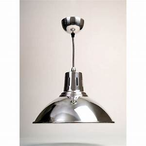 The chrome milan kitchen pendant light