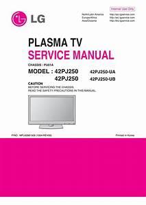 Manual De Servico Televisores De Plasma Marca Lg Modelos