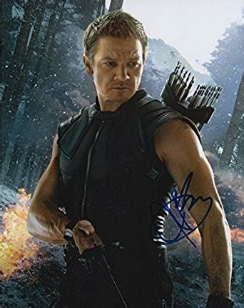 Jeremy Renner The Avengers Age Ultron Signed