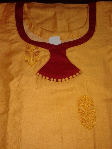 Boat Neck Kurti Patterns by Different Types Of Kurti Neck Patterns Simple Craft Ideas