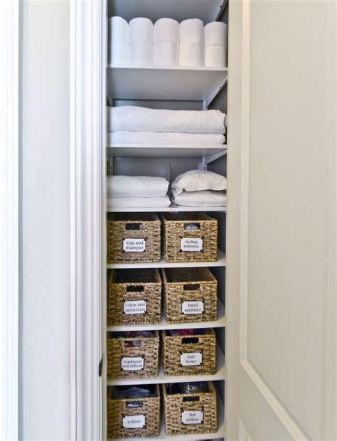 bathroom closet storage ideas best 25 linen closets ideas on bathroom
