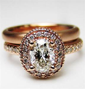 rose gold vintage engagement ring ipunya With vintage gold wedding ring