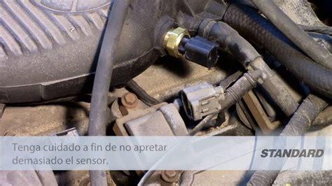 reemplazo del sensor de temperatura del aire de admision