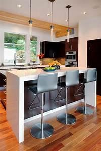 Petit Bar Cuisine : la chaise de cuisine moderne en 62 photos inspirantes ~ Teatrodelosmanantiales.com Idées de Décoration