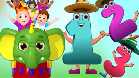 Learn To Count From 1-20 At Chuchu Tv