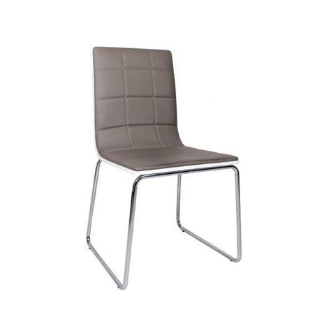 chaise pas cher grise lot 4 chaises pas cher maison design wiblia com