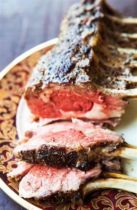 how to cook a rack of classic rack of recipe simplyrecipes