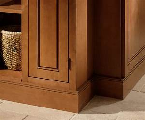 Ogee Cabinet Molding & Accent Features