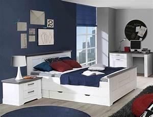 Schlafzimmer Weiß Grau : jugendzimmer gaston 66 wei grau 7 teilig schlafzimmer schneeeiche wohnbereiche schlafzimmer ~ Frokenaadalensverden.com Haus und Dekorationen