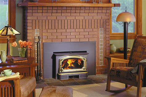 fireplace insert installation wood burning inserts