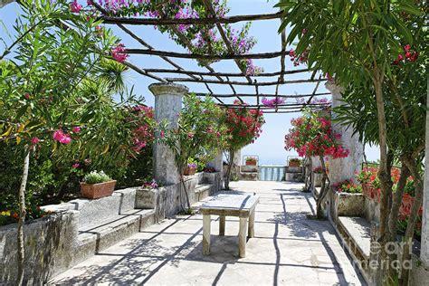 Italian Villa Garden Photograph By George Oze