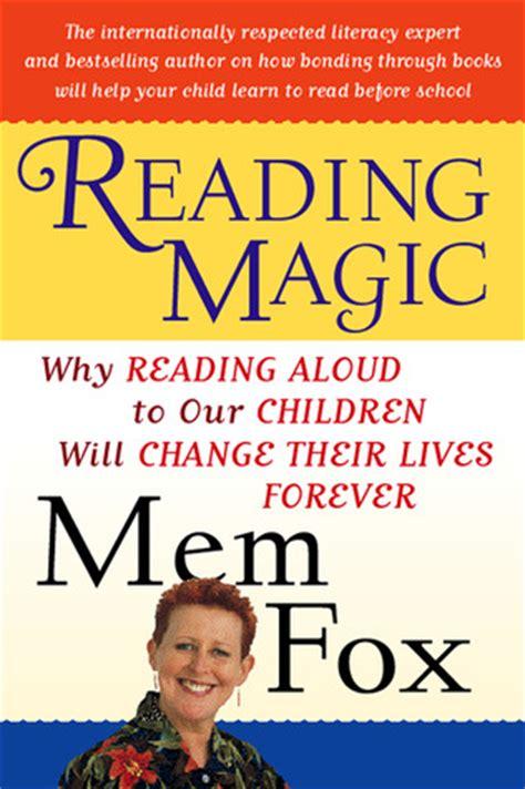reading magic  reading aloud   children