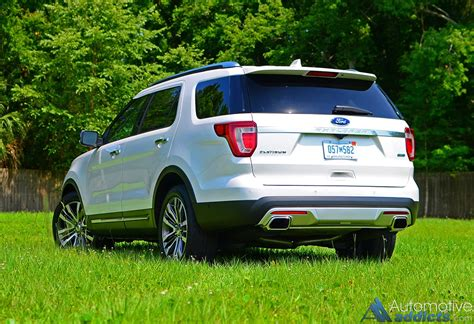 2016 Ford Explorer Platinum Awd Review & Test Drive