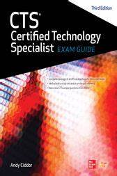 Cts Certified Technology Specialist Exam Guide  Third Edition