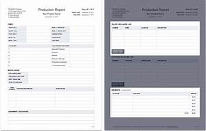 Beautiful Production Report Template Image Collection Documentation ...