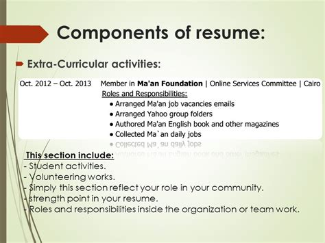 resume ideas your way toward professional resume