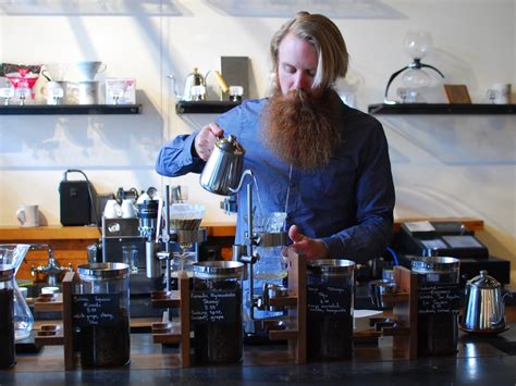 After removing the name four barrel from its café windows and crossing it off on signs and menus, the remaining owners of the embattled coffee company say they'll keep the name four barrel after all. Four Barrel Coffee: Taking It Slow in the Mission - Food GPS
