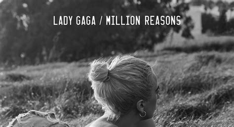 Lady Gaga Unveils Special 'million Reasons' Single Artwork