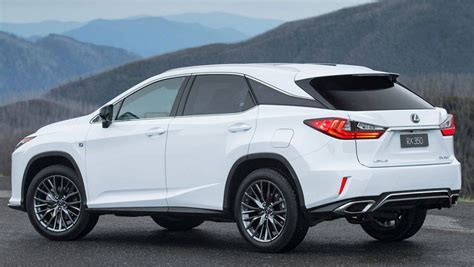 lexus rx review road test carsguide