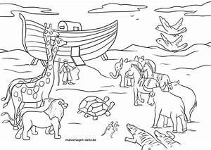 noah, u0026, 39, s, animals, coloring, page