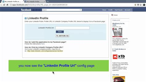 how to add linkedin profile to page hd 1280x720