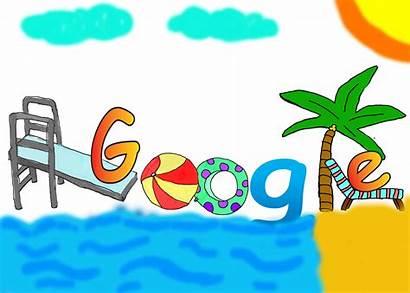 Doodle Google Summer Vacation Season Today Doodles