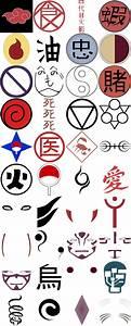 Naruto Markings And Symbols by DarkAngel-Kurai134 on DeviantArt