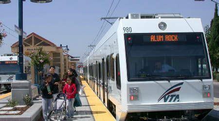 Santa Light Rail by Santa Clara Vta Gears Up For New Light Rail Route